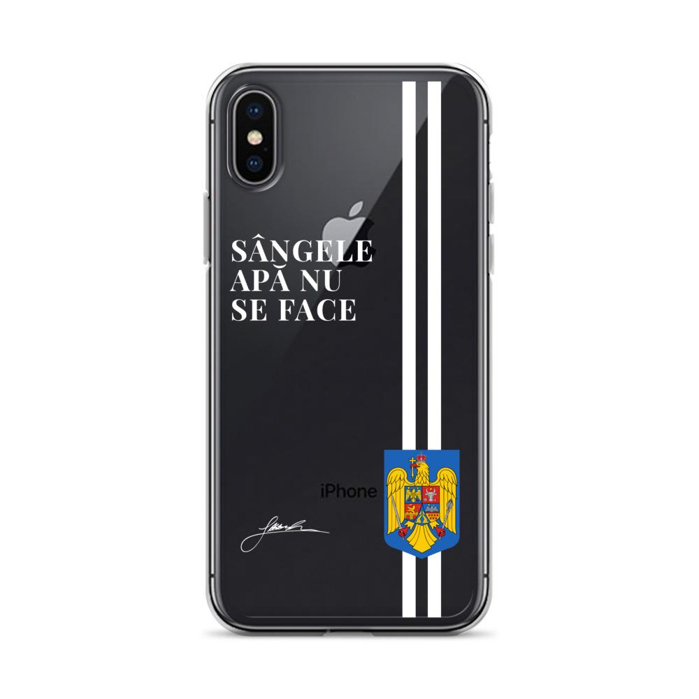 iPhone Hülle - Rumänien - Sangele apa nu se face Wappen ...